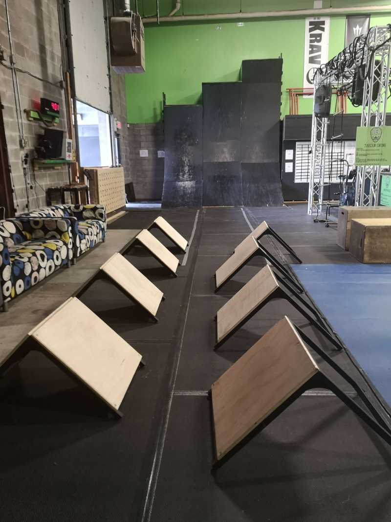 Ninja Warrior Warped Wall and Ninja Steps